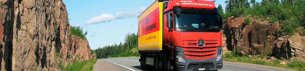 Transport Groupage Suisse Italie